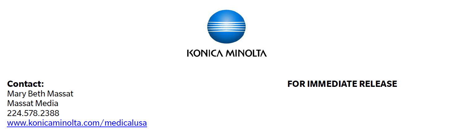 Konica Minolta Healthcare's Exa Enterprise Imaging Delivers Intelligent Analytics to Radiology Departments